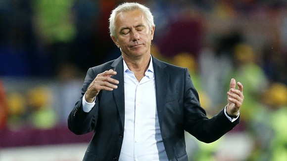 Holland manager Bert van Marwijk.