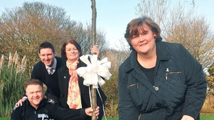 Tree planting to recognise domestic violence victims