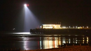 helicopter search in Worthing