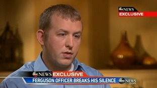 Darren Wilson: I have a clear conscience over Michael Brown shooting