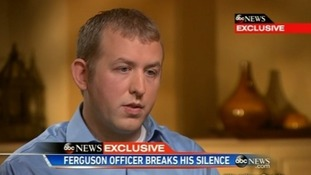 Officer who shot dead Michael Brown says his conscience is clear