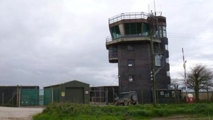 Boston RAF control tower up for auction