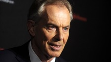 Tony Blair at the charity event in New York last week.