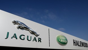 general view of the Jaguar Land Rover Halewood Operations Plant