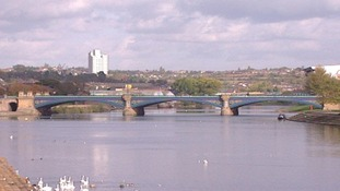 The torch will travel over Trent Bridge later today