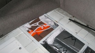 Cocaine with an estimated street value of £8million has been found in a lorry.