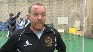 Chris Scott, the Cambridge MCCU Head Coach.