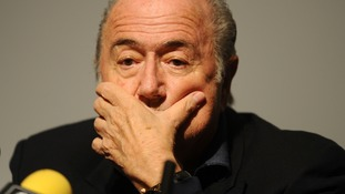 Fifa president Sepp Blatter has rejected FA chairman Greg Dyke's call to publish the Garcia report into allegations of corruption in World Cup bidding, claiming it would break Fifa rules and Swiss law.