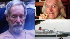 Michael Buerk says he had the opportunity to push Jimmy Savile over the railings of the QE2.