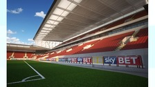 CGI of Ashton Gate West Stand