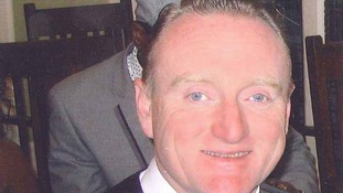 Mr Brown died at the scene of the car crash in March