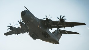 The A400M Atlas military aircraft