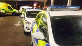 Police called after Black Friday supermarket rush