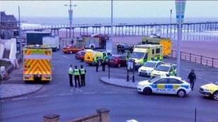 Armed incident in Saltburn