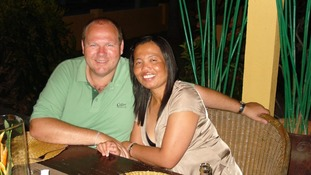 Steve and Mai Massingham, from Llantwit Major, were also in Phuket at the time