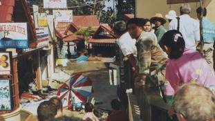 Mari's photograph of Phuket, Thailand, moments after the Tsunami had hit