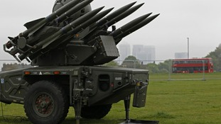 Legal challenge on Olympic missiles
