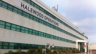 Halewood operations plant, Merseyside.