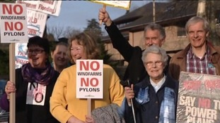 Powys Council turns down windfarm plans