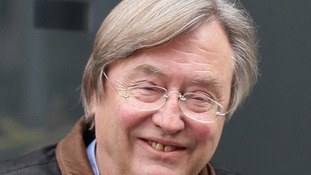 David Mellor after his radio show yesterday