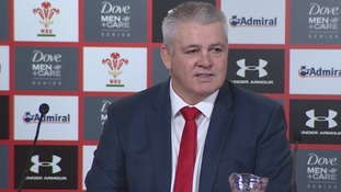 Gatland 'had to turn away' during game's final minutes