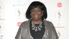 Diane Abbott MP at The Women of the Year awards earlier this year