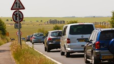 The A303 at Stonehenge is a notorious bottleneck.