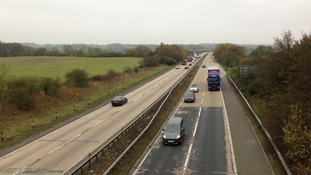 The A12 at Kelvedon
