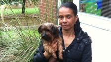 Dog owner Beverley Beard