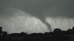 Tornado in region