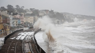 More funding has been promised for the rail link at Dawlish