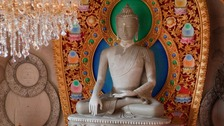 This celebration is considered very important to the Buddhist community.