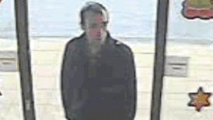 Officers are releasing CCTV images of a man they want to identify.