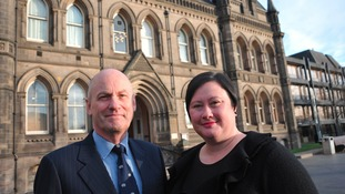 Assistant Coroner Malcom Donnelly and Acting Senior Teesside Coroner Clare Bailey