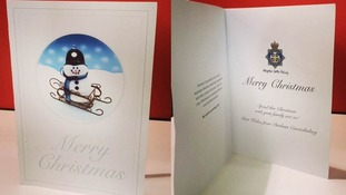 The cards will be delivered to known offenders in the area