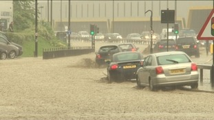 Storms and heavy rain has caused flooding