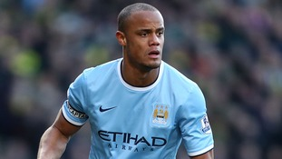 Kompany in Roma fitness race