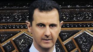 Syrian President President Bashar al-Assad
