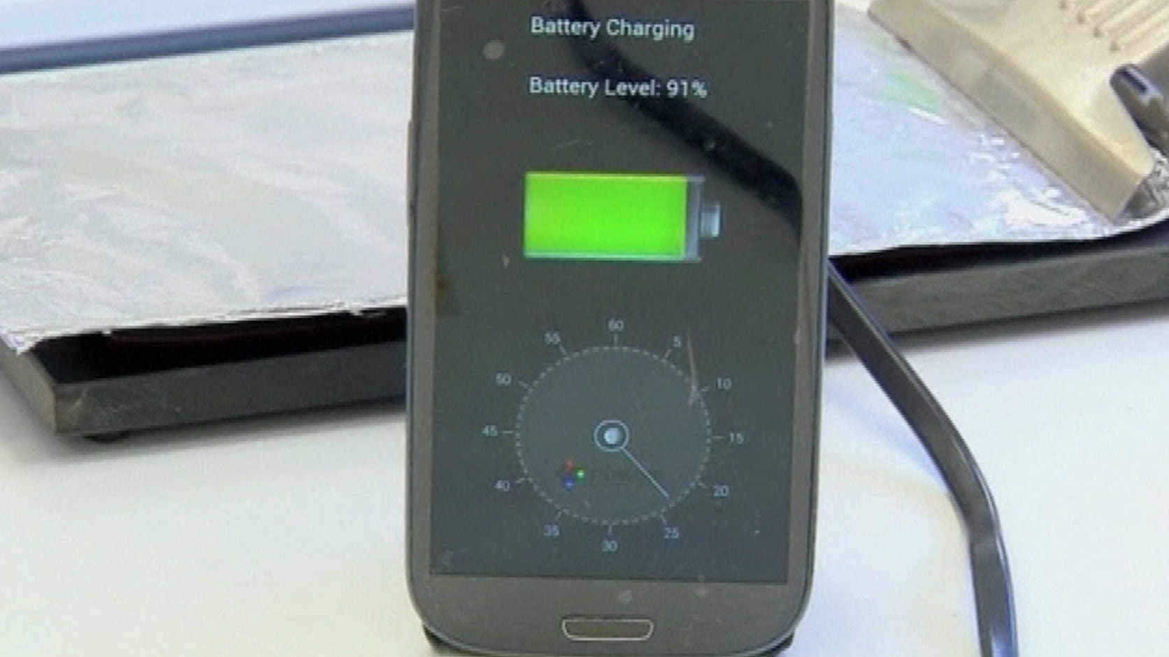 Scientists develop way to charge mobiles in just 30 ...