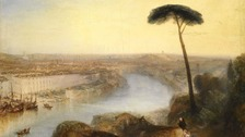Rome, From Mount Aventine: The painting is arguably the most important view of the Italian city ever painted