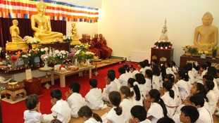 Vesak is the most popular event in the Buddhist calendar.