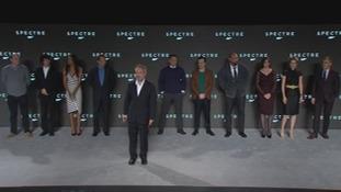 Cast of the new James Bond film.