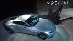 The new Bond Aston Martin.