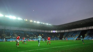 Coventry City's pitch has been criticised by the club's manager