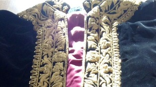 Emperor Haile Selassie's dress cloak