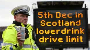 English motorists warned as Scotland lowers drink-drive limits