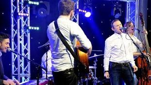 Wayne Rooney singing