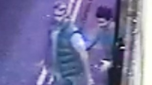 Police have released two images of people they want to speak to after a nightclub assault