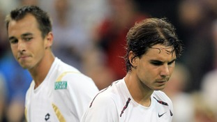 Bookmakers have slashed Murray's odds of making the final following Nadal's shock defeat.