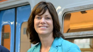 Rail Minister Claire Perry said the Government is taking 'tough decisions' over railway improvements